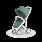 Greentom Classic white sage sustainable baby stroller kinderwagen