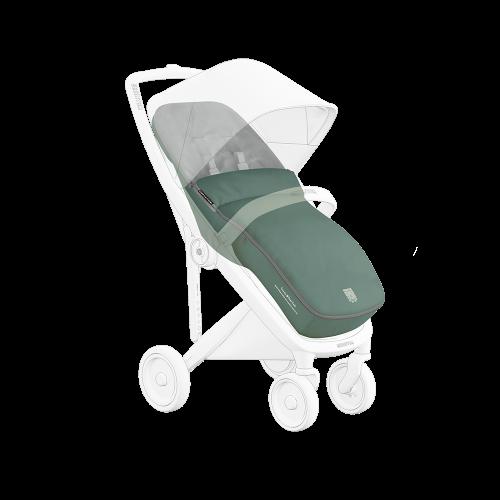 Greentom Classic Footmuff stroller in Sage baby kids